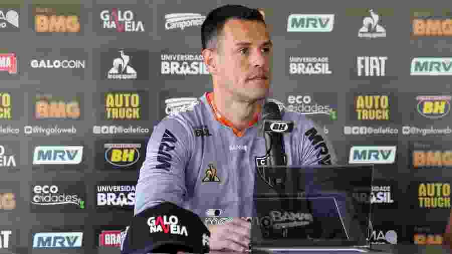 Wilson, novo goleiro do Atlético-MG, fala sobre o que espera no clube - Bruno Cantini/Divulgação/Atlético-MG