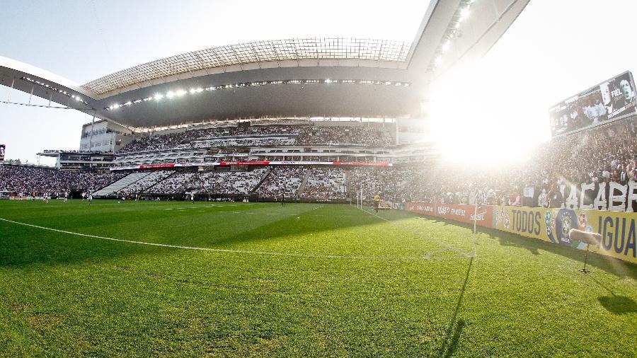 Gramado da Arena Corinthians - Agência Corinthians