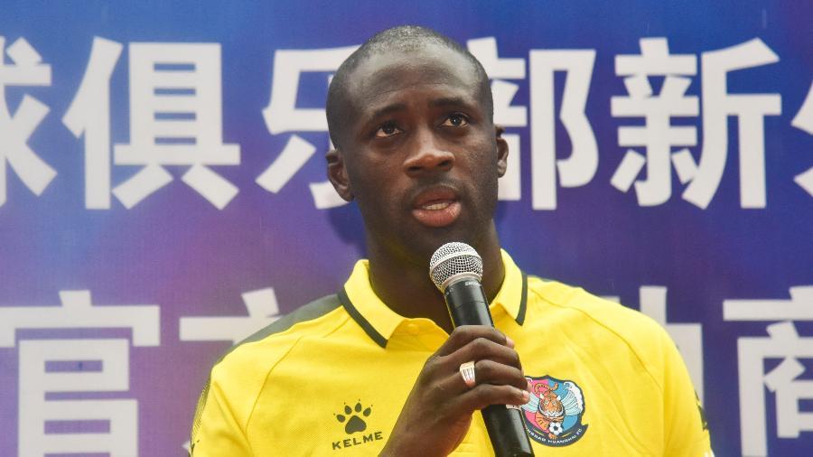 Yaya Touré deixou o clube chinês Qingdao Huanghai no começo do ano e está atualmente sem clube - Visual China Group/Getty Images