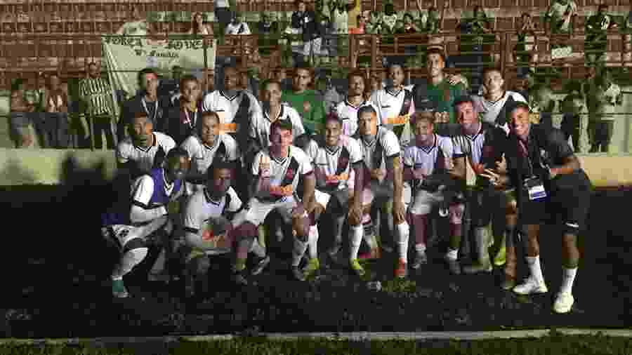 Vasco comemora vitória sobre Itapirense que o classificou na Copinha na liderança - Divulgação/Vasco