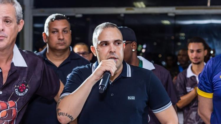 Rodrigo Brandão, presidente-fundador da escola de samba União Cruzmaltina - Ewerton Pereira / União Cruzmaltina