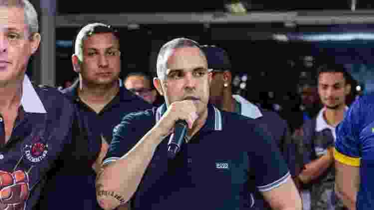 Rodrigo Brandão, presidente-fundador da escola de samba União Cruzmaltina - Ewerton Pereira / União Cruzmaltina - Ewerton Pereira / União Cruzmaltina