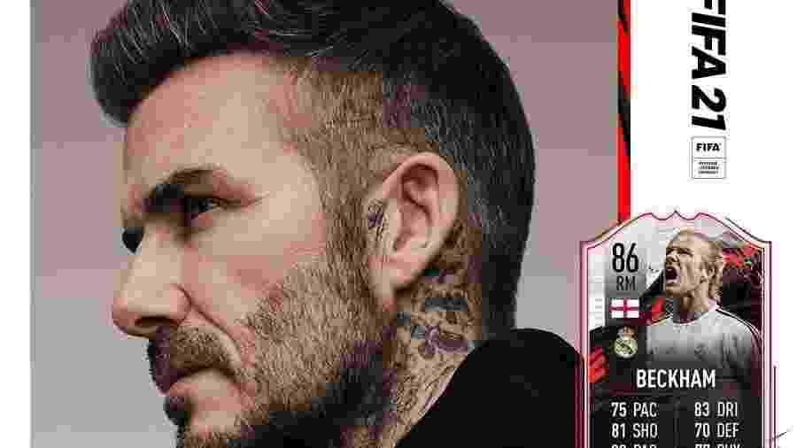 David Beckham é confirmado no Fifa 21 - Reprodução/Instagram/Eletronic Arts