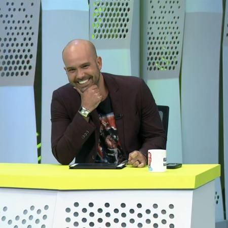 Lucas Gutierrez apresenta o Segue o Jogo na TV Globo - Reprodução