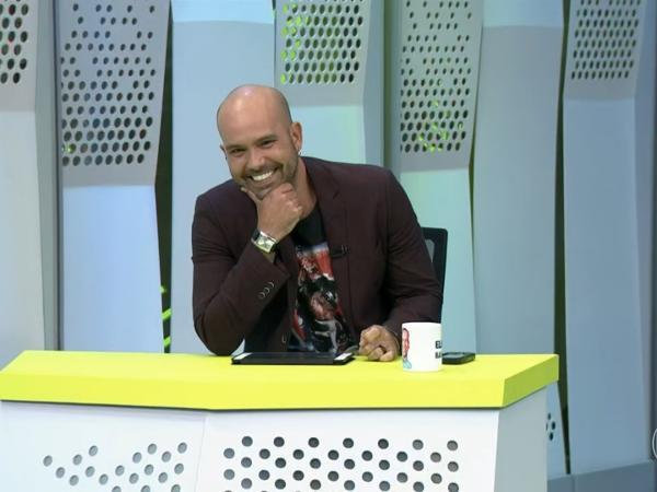Lucas Gutierrez apresenta o Segue o Jogo na TV Globo