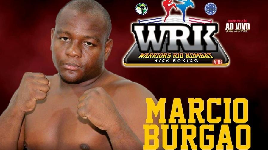 """Márcio """"Burgão"""" Couto, lutador de kickboxing, morreu de covid aos 37 anos - Divulgação"""