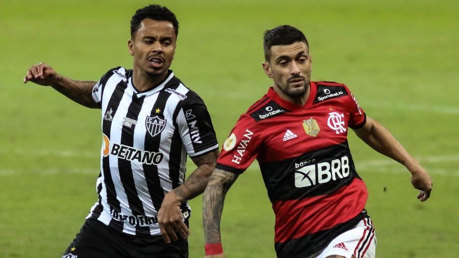 Atlético-MG e Flamengo pelo Campeonato Brasileiro da Série A -  Fernando Moreno/AGIF