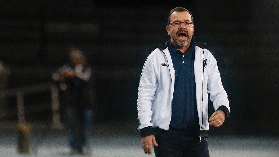Enderson Moreira possui 79% de aproveitamento dos pontos disputados pelo Botafogo - Vitor Silva/Botafogo