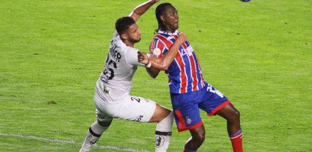 Campeonato Brasileiro   Em estreia de Fábio Carille, Santos ataca pouco e fica no 0 a 0 contra o Bahia
