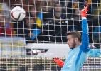 De Gea fecha o gol e Espanha manda Ucrânia à repescagem; Inglaterra é 100% - VALENTYN OGIRENKO/REUTERS