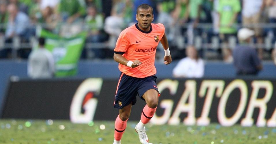 Daniel Alves já deu 86 assistências desde a chegada no Barcelona