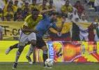 Mina dorme na Colômbia e volta em jato de Nobre para reforçar o Palmeiras - AFP PHOTO / Luis Acosta