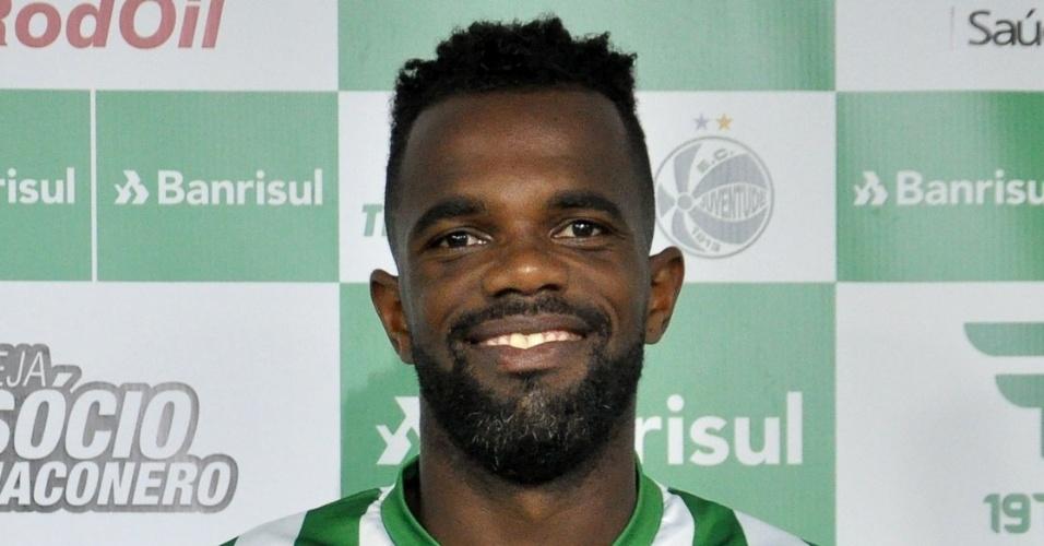Tadeu (30 anos), atacante ex-Palmeiras e Grêmio, jogará o Campeonato Gaúcho pelo Juventude