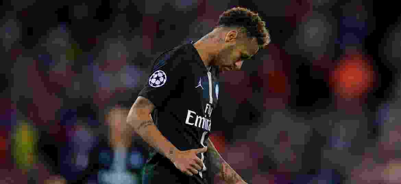 6b787b1824 Neymar lamenta derrota do PSG para o Liverpool na Liga dos Campeões Imagem   Xinhua Han Yan