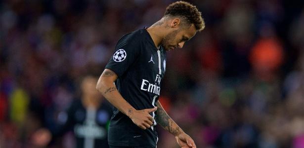 Neymar precisa pensar mais no coletivo, diz ex-atacante francês - Xinhua/Han Yan