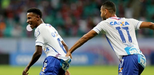 Bahia contou com gol de Ramires logo nos primeiros minutos para vencer o Botafogo - Felipe Oliveira / EC Bahia