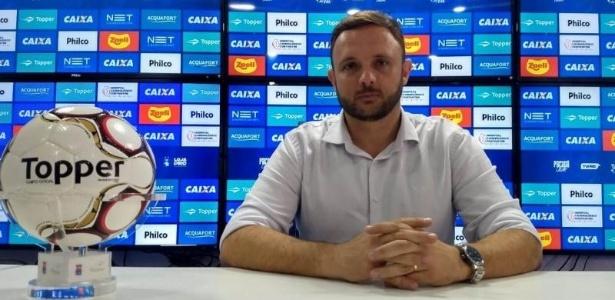 Mario André Mazzuco é o novo executivo de futebol do Paraná Clube - Irapitan Costa/Paraná Clube