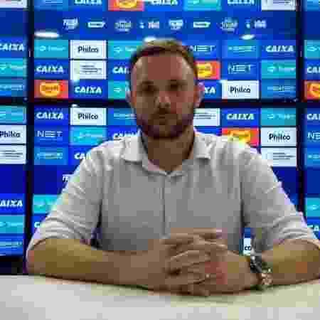 André Mazzuco, ex-executivo de futebol do Paraná Clube, acertou com o Vasco - Irapitan Costa/Paraná Clube