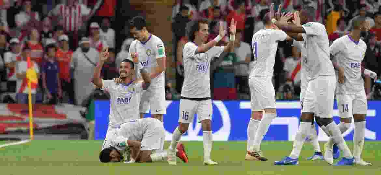 Al Ain surpreendeu o mundo do futebol ao eliminar o River Plate na semifinal da competição - Giuseppe CACACE / AFP