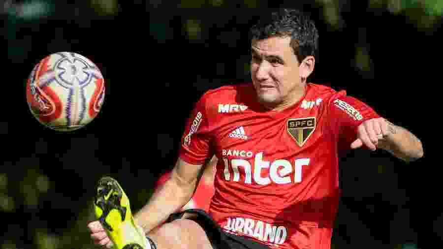 Vindo do Athletico-PR, Pablo falou sobre o início de temporada no São Paulo - Marcello Zambrana/AGIF