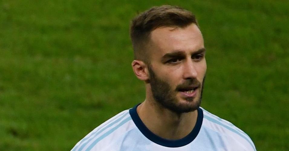 Germán Pezzella, jogador da seleção argentina
