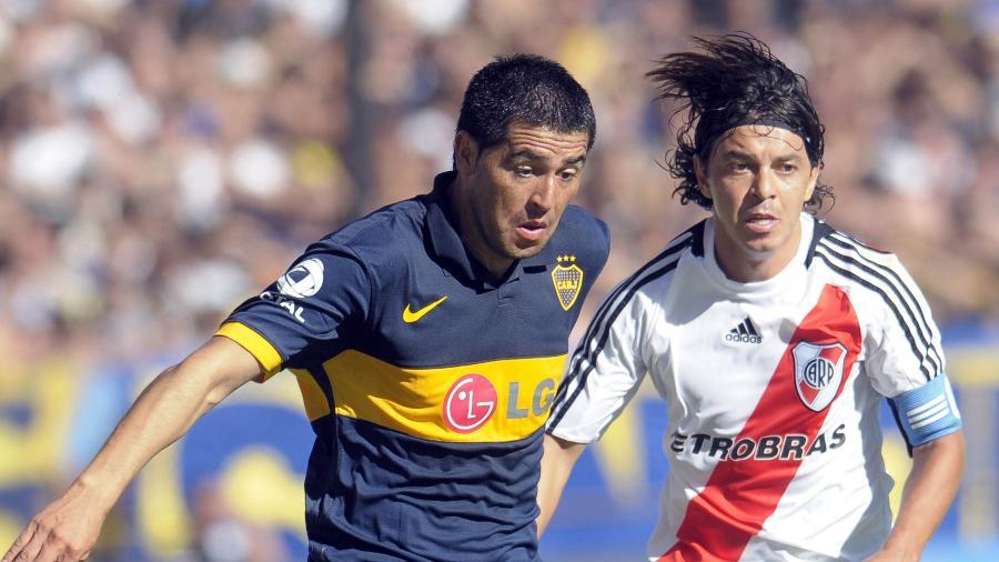 Ex-meia e ídolo no Boca Juniors-ARG atualmente ocupa cargo diretivo no clube de coração - Santiago Rios/Latin Content/Getty Images