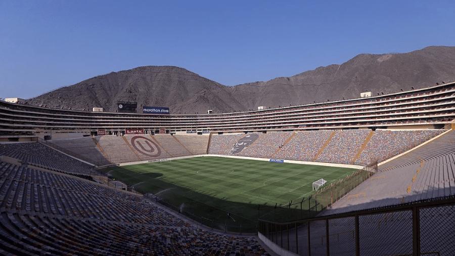 Monumental de Lima está preparado para a final da Libertadores - Reprodução/Instagram