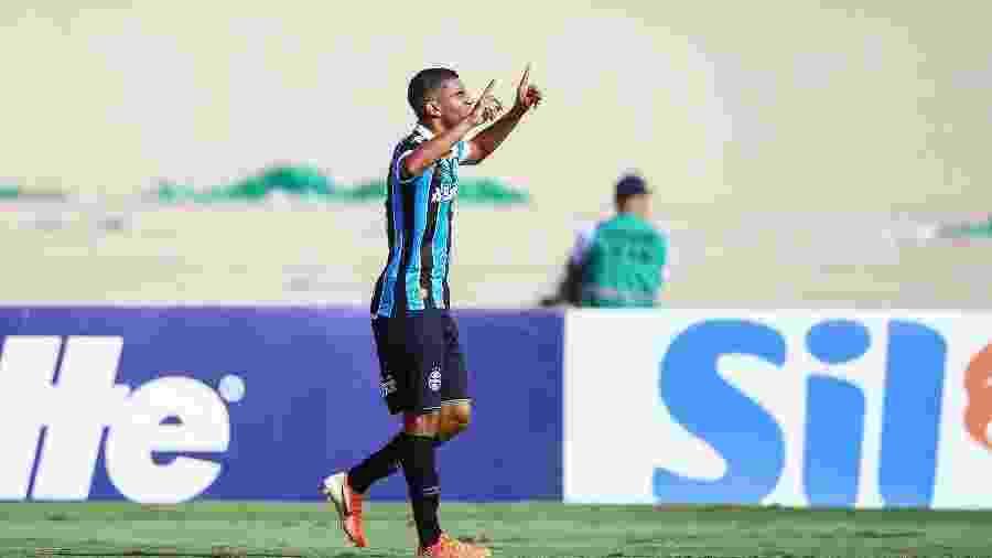 Isaque é uma das atrações do time B do Grêmio que decide a Recopa Gaúcha contra o Pelotas - Lucas Uebel/Grêmio