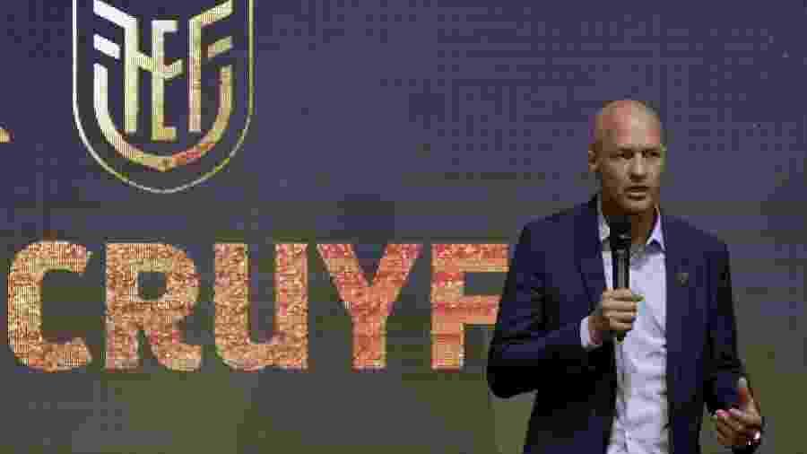 """""""Copa América é diferente pela paixão pelo futebol nesta parte do mundo"""", afirmou treinador holandês - Rodrigo Buendia/AFP"""