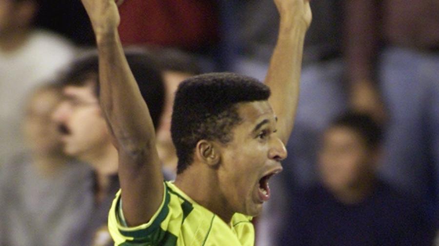 Manoel Tobias em quadra pela seleção brasileira - REUTERS/Mario Linares
