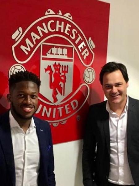 Fábio Mello alinhavou a transferência de Fred do Shakhtar Donetsk para o Manchester United - Arquivo Pessoal