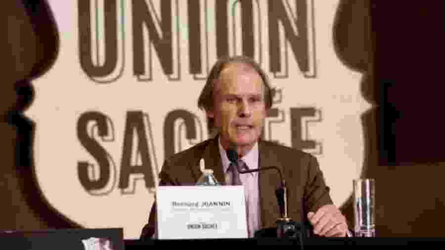 Presidente do Amiens, Bernard Joannin, quer que decisão da liga francesa seja alterada - Reprodução/AmiensSC