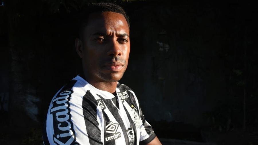 Robinho é anunciado pelo Santos - Divulgação/Santos FC
