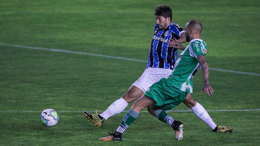 Lucas Silva tem experiência em conquista da Copa do Brasil e dá dica ao Grêmio - Fernando Alves/AGIF