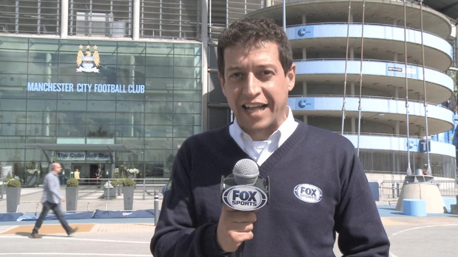 Fernando Caetano: jornalista que foi rosto do Fox Sports faleceu neste domingo (9) aos 50 anos - Reprodução/Fox Sports