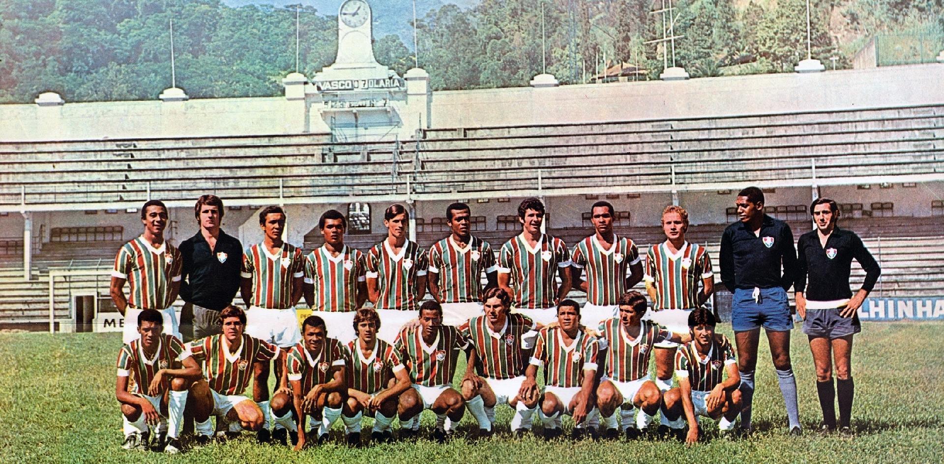Elenco do Fluminense, campeão de 70