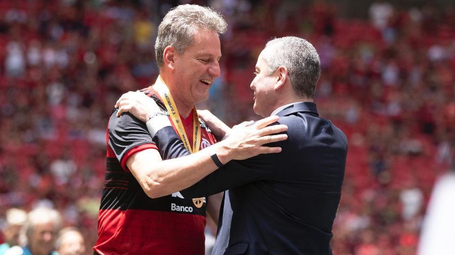 Presidente do Flamengo, Rodolfo Landim, está cada vez mais isolado do união entre clubes - Lucas Figueiredo/CBF