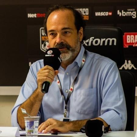 Vice-presidente geral do Vasco, Carlos Osório fez duras críticas à Ferj por conta de adiamento de clássico com Fla - Rafael Ribeiro / Vasco