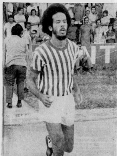 Allan Cole, na época em que jogou no Náutico - Reprodução/Diário de Pernambuco