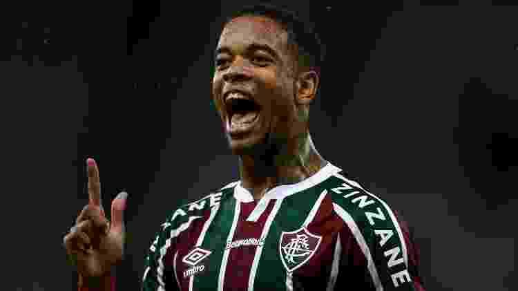 Caio Paulista marcou o gol da virada do Fluminense sobre o Independiente Santa Fe na Libertadores - Lucas Merçon/Fluminense FC - Lucas Merçon/Fluminense FC