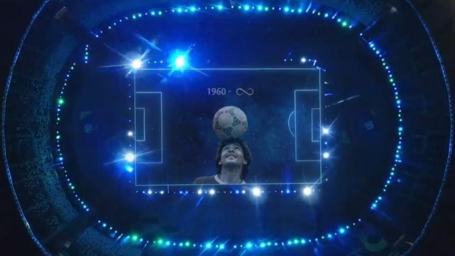 Conmebol homenageia Maradona antes de estreia da Argentina na Copa América - Reprodução/Twitter