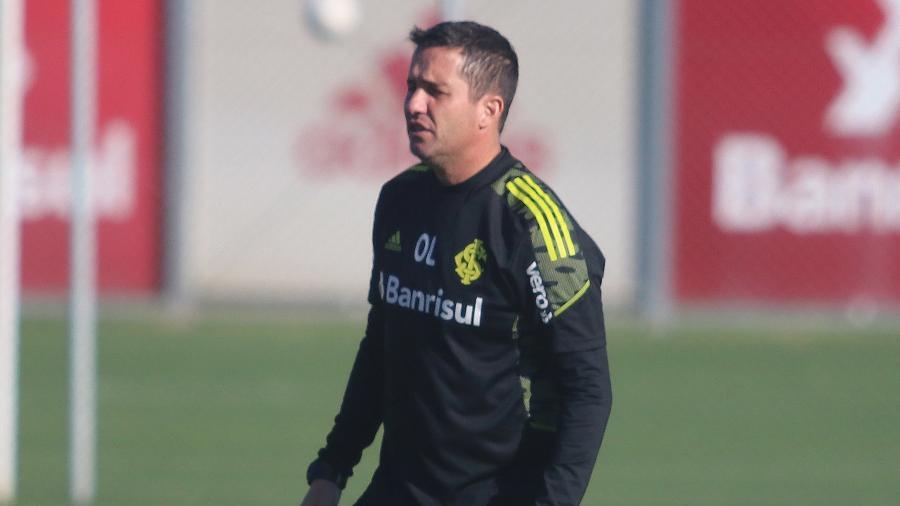 Osmar Loss comanda o Inter contra o Atlético-MG e tem grande chance de atuar no domingo - Ricardo Duarte/SC Internacional
