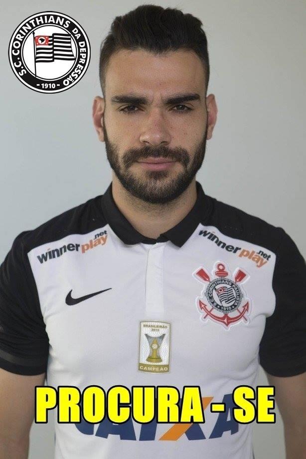 O volante Bruno Henrique tem sido alvo de críticas de corintianos no estádio. Na internet não é diferente
