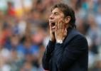 Choro, bico e gritos. Como Conte reagiu à vitória da Itália sobre a Espanha - Darren Staples/Reuters