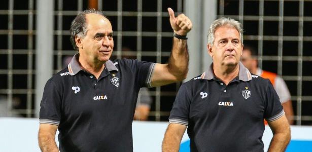Marcelo Oliveira não quer saber de poupar jogadores na reta final do Brasileiro