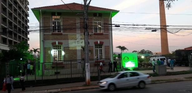 Cantina do Palmeiras fica localizado em frente ao Allianz Parque - Danilo Lavieri/UOL Esporte