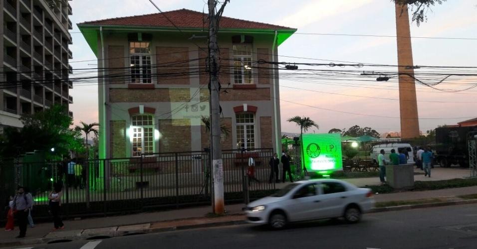 Fachada Cantina Palmeiras