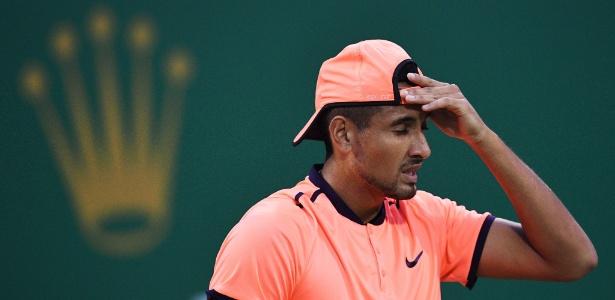 O tenista australiano Nick Kyrgios - JOHANNES EISELE/AFP