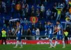 """Torcedores do Espanyol chamam Shakira de """"p..."""" e são rebatidos por Piqué - AFP/Pau Barrena"""