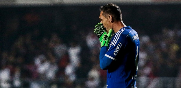 Fernando Prass considerou-se responsável pela derrota no clássico de sábado - Ale Cabral/AGIF